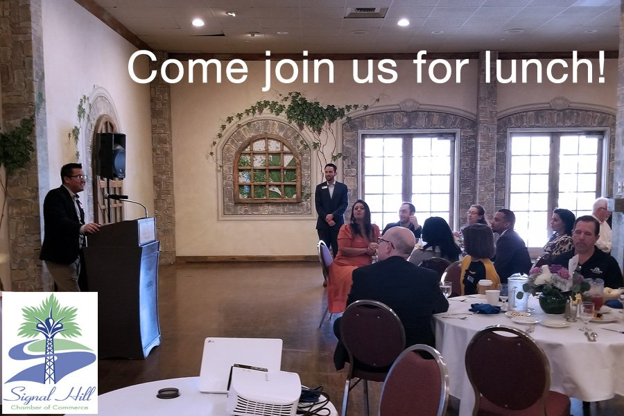 Signal Hill Chamber Luncheon