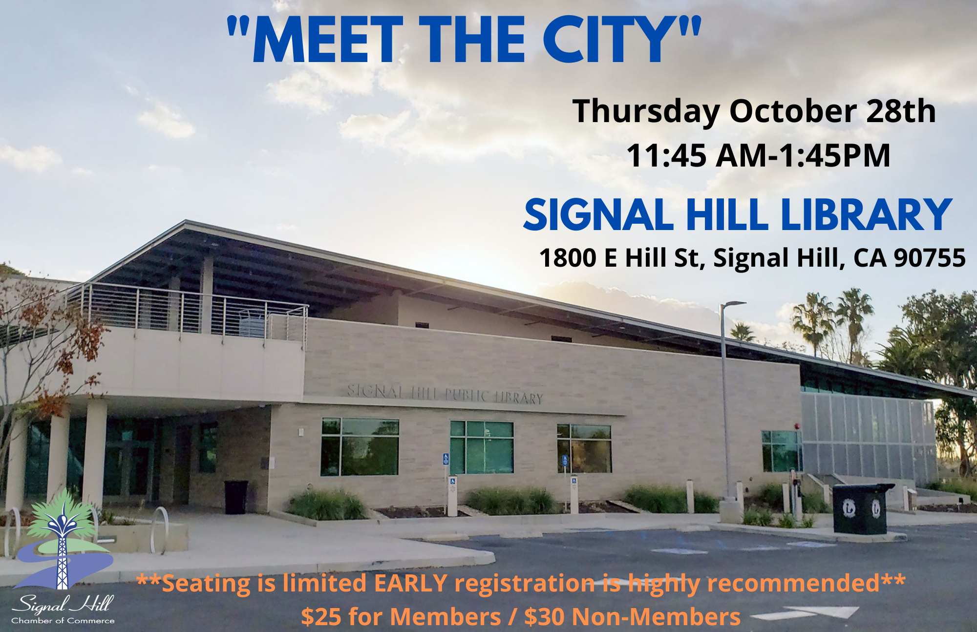 Signal Hill Chamber of Commerce Luncheon